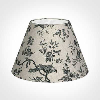 50cm Empire Shade in Black Isabelle