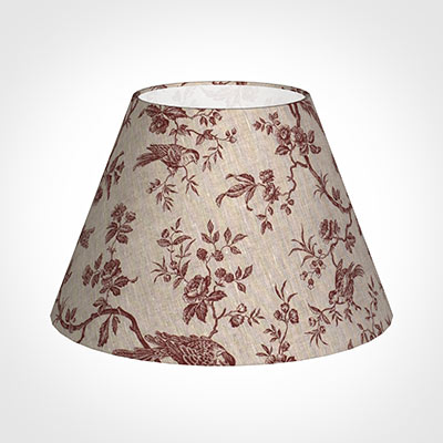 50cm Empire Shade in Red Isabelle