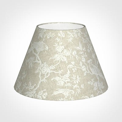 50cm Empire Shade in White Isabelle