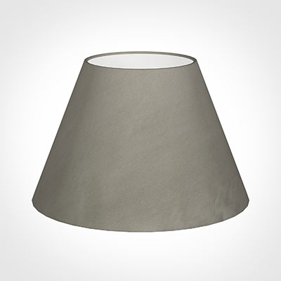 50cm Empire Shade in Pewter Satin
