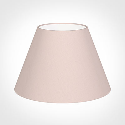 50cm Empire Shade in Vintage Pink Waterford Linen