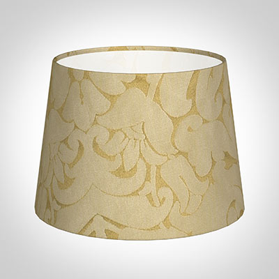 20cm Medium French Drum Shade in Gold Chatsworth