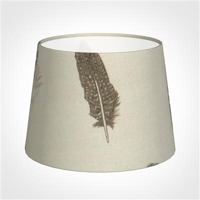 20cm Medium French Drum Shade in Stone Featherdown