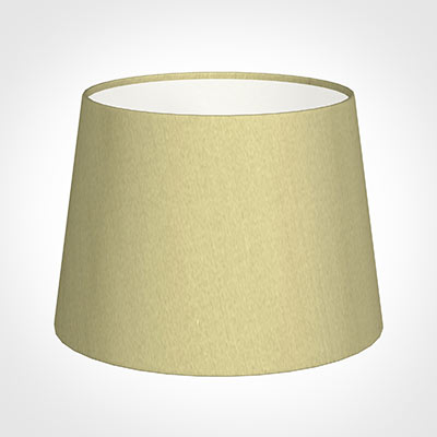 20cm Medium French Drum Shade in Wheat Faux Silk