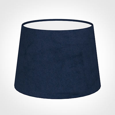 20cm Medium French Drum in Navy Blue Hunstanton Velvet