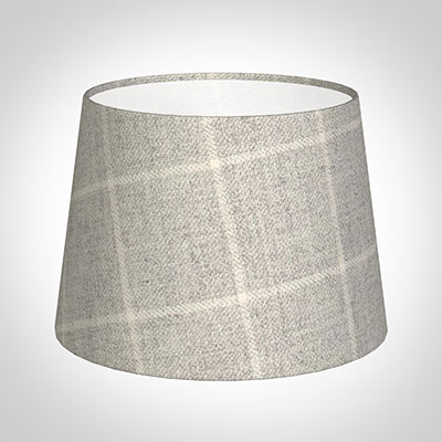 20cm Medium French Drum in Stirling Check Lovat Wool