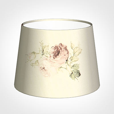 20cm Medium French Drum Shade in Antique Rosanna