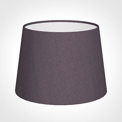 20cm Medium French Drum Shade in Heather Silk