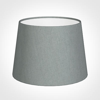 20cm Medium French Drum Shade in Blue Waterford Linen