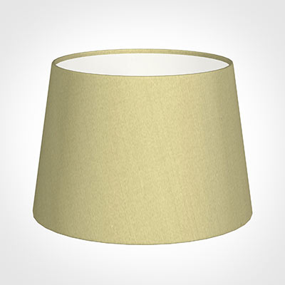 25cm Medium French Drum Shade in Wheat Faux Silk