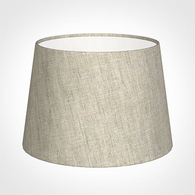 25cm Medium French Drum Shade in Natural Isabelle
