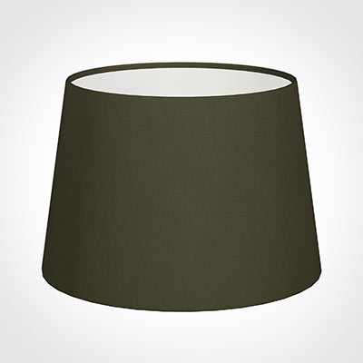 25cm Medium French Drum Shade in Laurel Satin