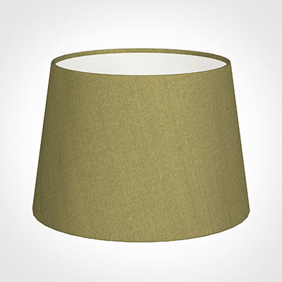 25cm Medium French Drum Shade in Antique Gold Silk