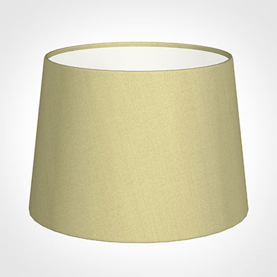 30cm Medium French Drum Shade in Wheat Faux Silk