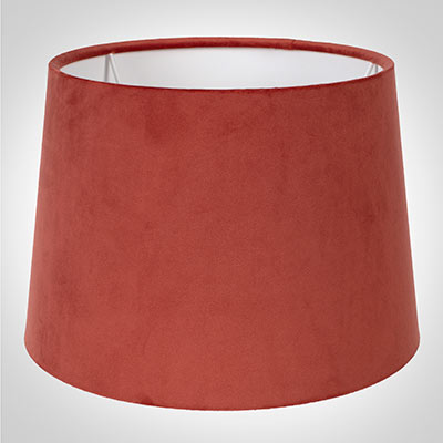 30cm Medium French Drum, Burnt Orange Velvet