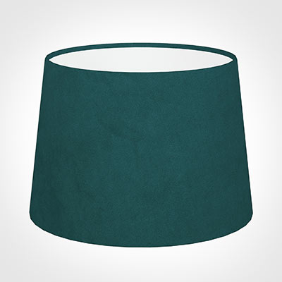 30cm Medium French Drum Shade in Teal Hunstanton Velvet