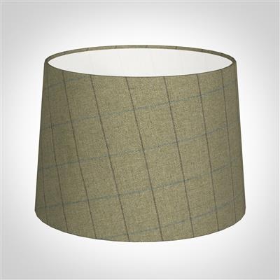 30cm Medium French Drum in Talisker Check Lovat Wool