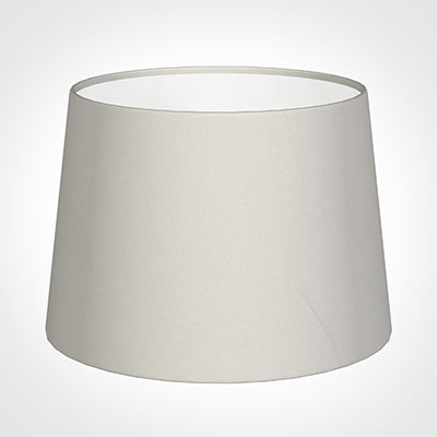 30cm Medium French Drum Shade in Off White Waterford Linen