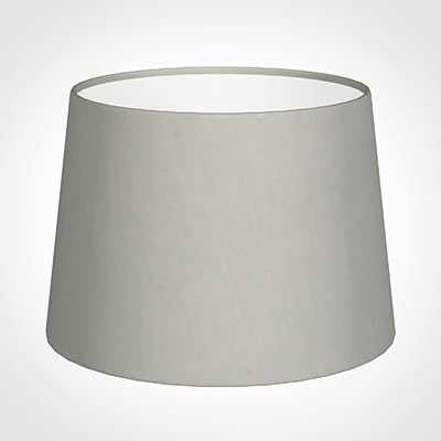 30cm Medium French Drum Shade in Soft Grey Waterford Linen