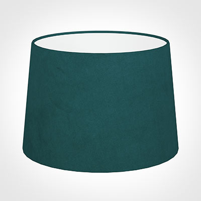 35cm Medium French Drum Shade in Teal Hunstanton Velvet
