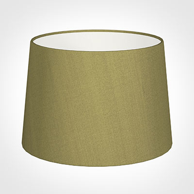 35cm Medium French Drum Shade in Antique Gold Silk