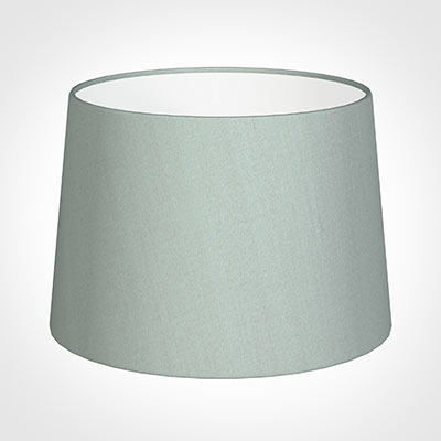 35cm Medium French Drum Shade in French Grey Silk