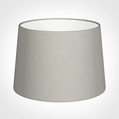 35cm Medium French Drum Shade in Soft GreyWaterford Linen