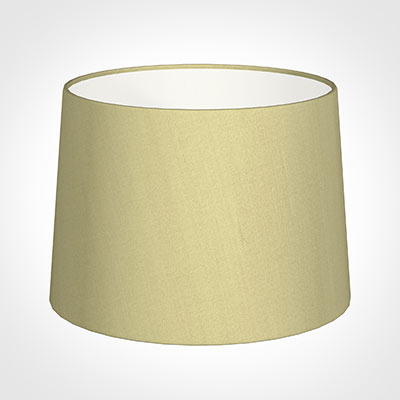 40cm Medium French Drum Shade in Wheat Faux Silk