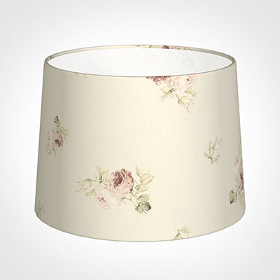 40cm Medium French Drum Shade in Antique Rosanna