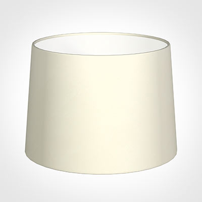 40cm Medium French Drum Shade in Cream Satin