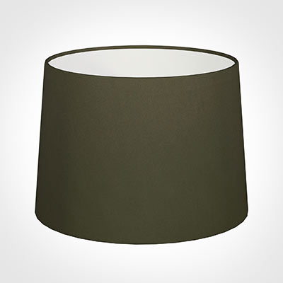 40cm Medium French Drum Shade in Laurel Satin