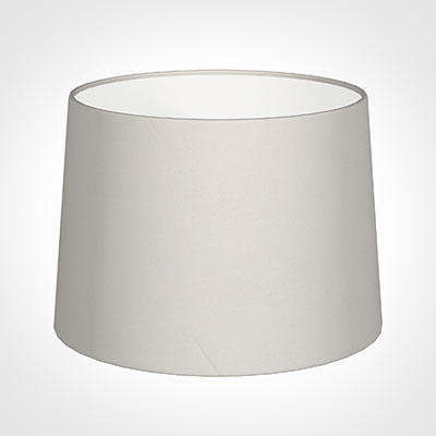 40cm Medium French Drum Shade in Off White Waterford Linen