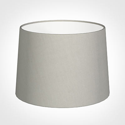 40cm Medium French Drum Shade in Soft GreyWaterford Linen