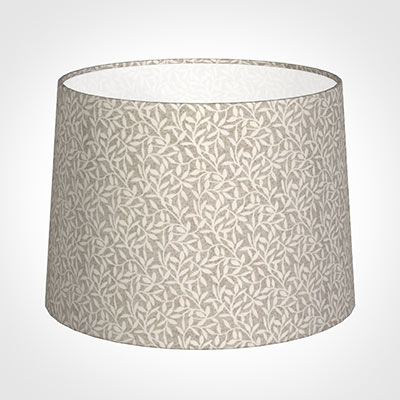 45cm Medium French Drum Shade in Grey Marl Arbour