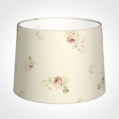 45cm Medium French Drum Shade in Antique Rosanna
