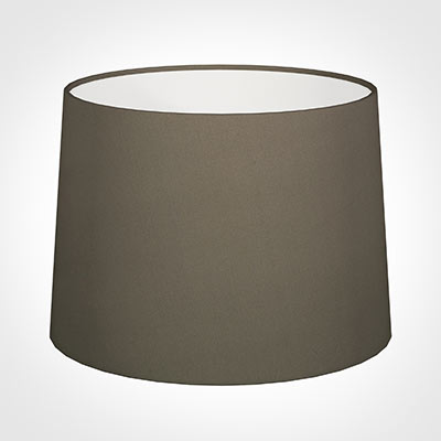 45cm Medium French Drum Shade in Bark Satin