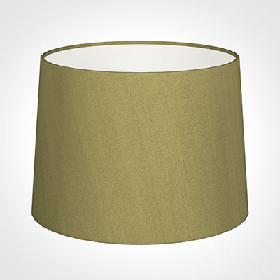 45cm Medium French Drum Shade in Antique Gold Silk