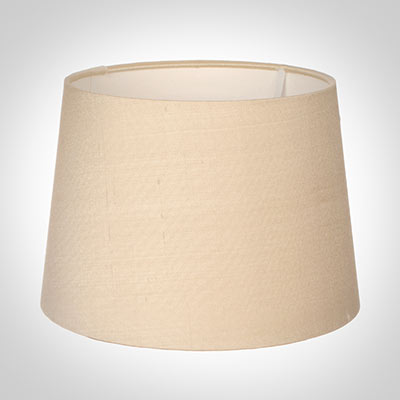 45cm Medium French Drum Shade in Buttermilk Silk