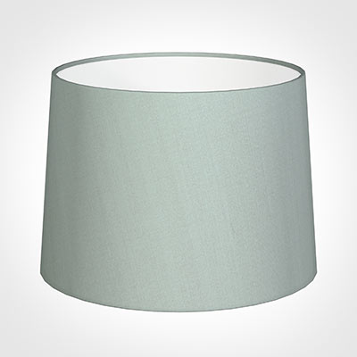 45cm Medium French Drum Shade in French Grey Silk