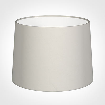45cm Medium French Drum Shade in Off White Waterford Linen
