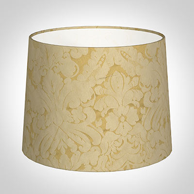 50cm Medium French Drum Shade in Gold Chatsworth