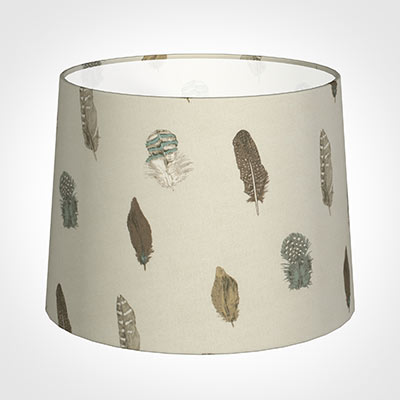 50cm Medium French Drum Shade in StoneFeatherdown
