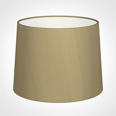 50cm Medium French Drum Shade in Oyster Faux Silk