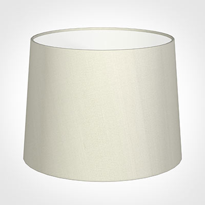50cm Medium French Drum Shade in Pearl Faux Silk