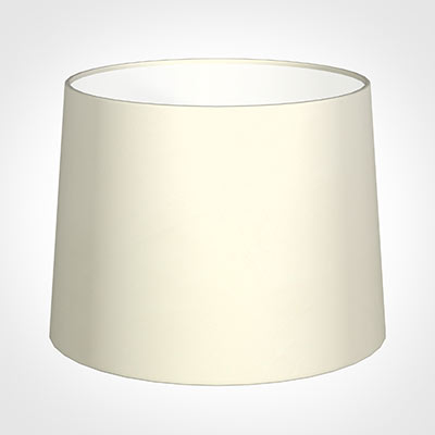 50cm Medium French Drum Shade in Cream Satin