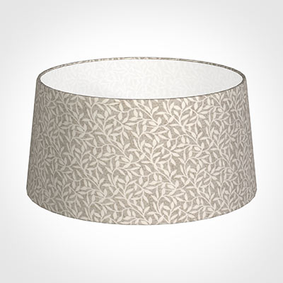 45cm Wide French Drum Shade in Grey Marl Arbour