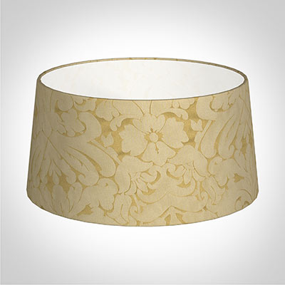 45cm Wide French Drum Shade in Gold Chatsworth
