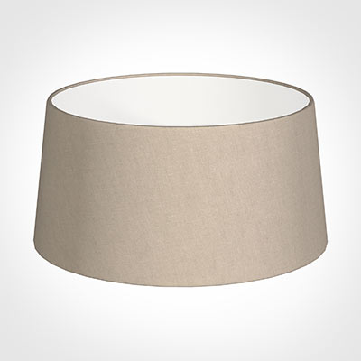 45cm Wide French Drum Shade in Putty Killowen Linen