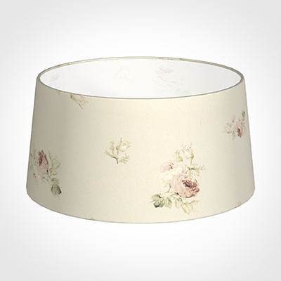 45cm Wide French Drum Shade in Antique Rosanna