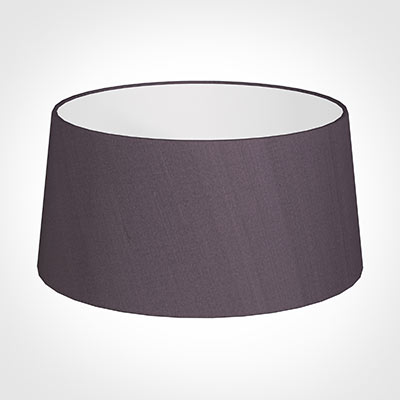 45cm Wide French Drum Shade in Heather Silk